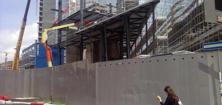 Progetto edificio Corso Como Milano (Tekne s.p.a.)