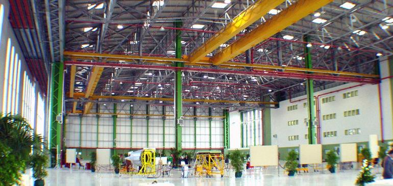 Progetto hangar Capodichino (Tekne S.p.a.)