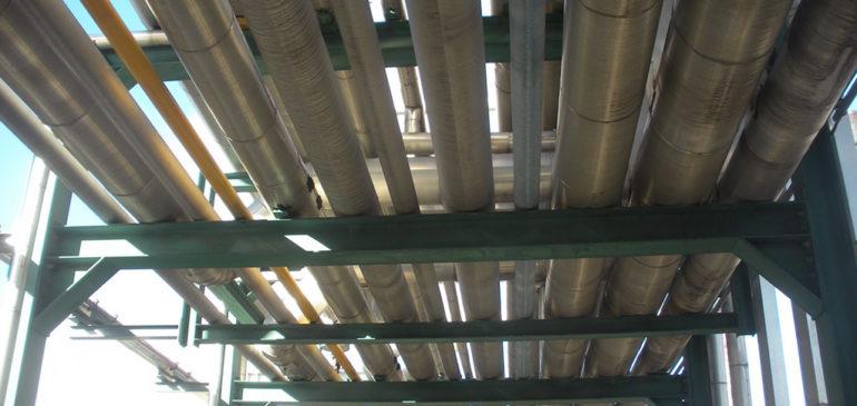 Progetto revamping pipe rack raffineria Anversa (Foster Wheeler Italiana S.r.l.)