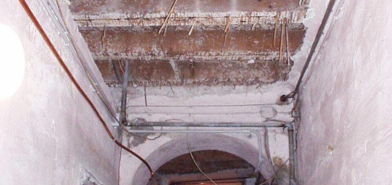 Progetto ristrutt. edificio via Bandello Milani (Vico Bandello)